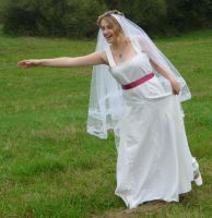 bride on a field 11 by indeed-stock