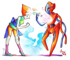 Pearl x Deoxys by Mr-Pidge