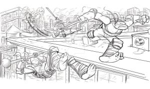 Ninja Turtles try out 2 by kross29