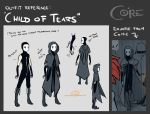 Outfit Reference: Child of Tears by CamishCD