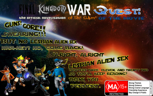 Final Kingdom War Quest Poster by FKWQ