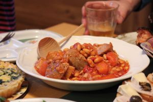 Baked beans with MEAT by lazzaris