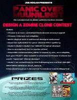 POM Zombie Clone Contest Rules and Prizes by JoeHoganArt