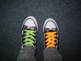 My new shoes 1 by DyaTagger