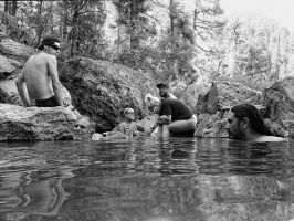 Hot Spring People by Vermontster
