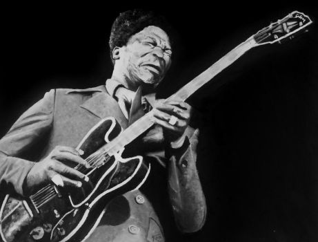 BB King - Gift for my brother by Kristelok