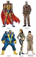 Avengers Handbook 5 Color by Uncle-Gus