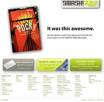 SMASH 2009 Site Design No. 1 by smashmike