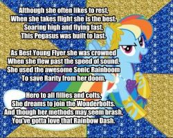 My Little Poetry -Rainbow Dash- by snakeman1992