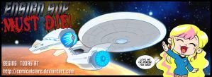 Ensign Sue Must Die BEGINS NOW by kevinbolk