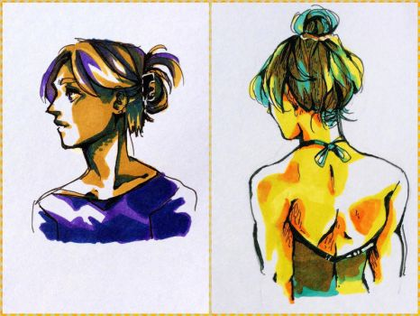 3 Markers by AssortedA-Art