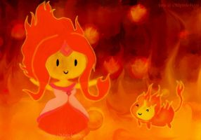 flame princess by tara26star