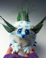 FOR SALE Peapuff Art Doll by Sovriin