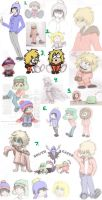 South Park Sketch Dump 2 by Dragongirl9888