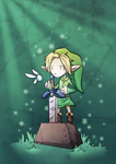 The Master Sword by ZestyDoesThings