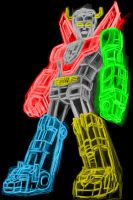 voltron neon by AlanSchell