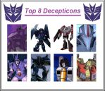 My 8 Favourite Decepticons by Gharanth