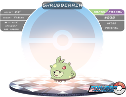 #030: Shrubberain by Lanmana