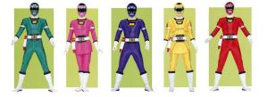 Turbo Power Rangers by planeteer1988