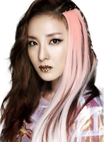 Dara (2NE1) [render] Png by Sellscarol