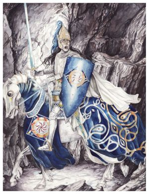 Fingolfin challenges Morgoth by peet