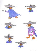 Darkwing Duck Doodle by DarkwingDrake