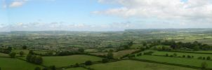 View from the Tor by Azvolrien