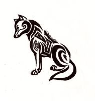 Coyote Tribal by Windicious
