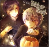 [2014.10.15]Halloween-Trick or Treat! by SHION-CHEN