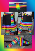 Rainbow Skirt by Trixel