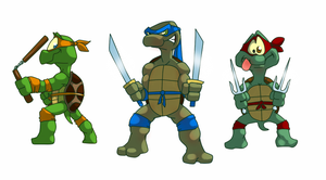 turtles by Flick-the-Thief