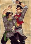 LoK - Mako and Bolin Colab by KeyshaKitty