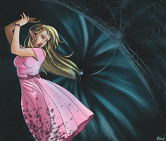 The itsybitsy spider by Wolfypaints