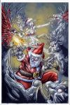 SANTA terror color by Vinz-el-Tabanas