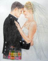 H and J's Wedding Picture 2 by Sofera