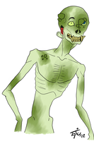 Zombie Creature by DegreesOfDeath