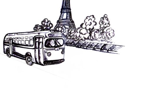 Paris in Black and White by SilverFoxDesigns