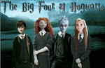 The Big Four at Hogwarts Poster by oyeeboo