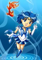 Chibi Sailor Mercury -Level 1- by bloona