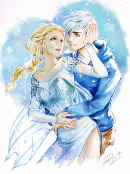 Jack and Elsa by Archie-The-RedCat