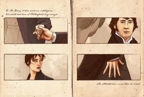 Pride + Prejudice: Hands by Ladamania