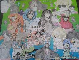 Homestuck Collage by StormClanAnime