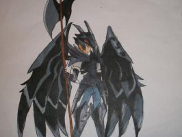 Red Eyes Black Dragon Armor by Trumpetingangel