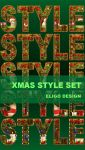 Premium Xmas Style Set By Eligodesign by EligoDesign