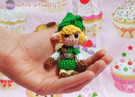 mini Link keychain by TheArtOfMuffin