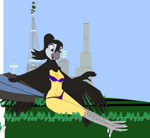 Ria don't worry little birdies I'm not going harm by OceanRailroader
