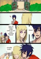 Shion X Naruto? Doujin pg2 by Stray-Ink92