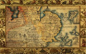 The Antique Map of East Althena by JaySimons