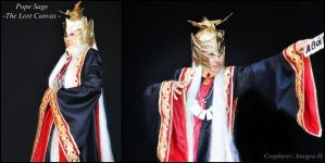 Saint Seiya - Pope Sage by Integra-cosplay
