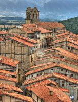 Old medieval town of Frias, Spain by vmribeiro